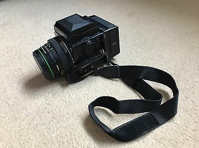 Bronica ETRS Medium Format SLR Film Camera with 75 mm lens. Excellent Condition
