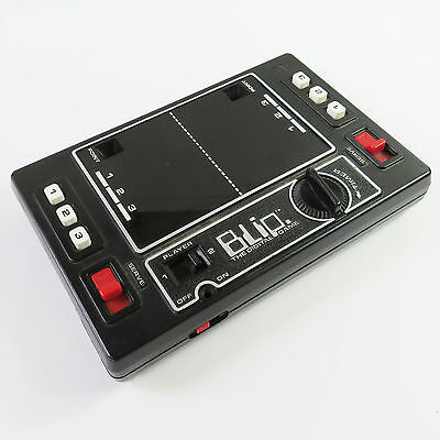 Vintage Blip 1977 Hand Held Tennis/Pong Toy Game By Tomy, Japan