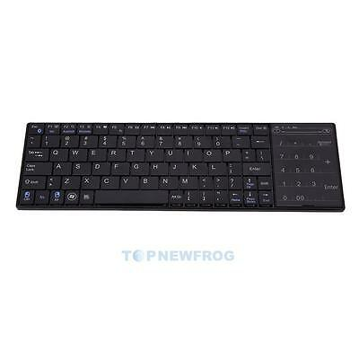 Slim Wireless Bluetooth 3.0 Keyboard with Touchpad for Windows Mac/IOS Android