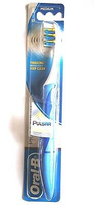 Oral-B Pulsar Pro Expert Vibrating Manual Toothbrush Medium 35-VARIOUS  USE MENU