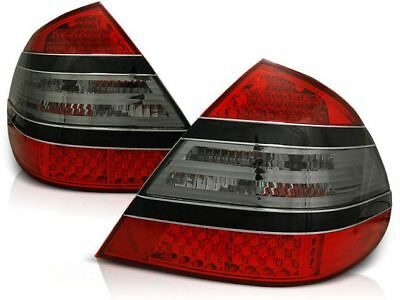 New Set Rear Tail Lights Rht Ldme18 Mercedes W211 E-Class 03.02-04.06 Red Smoke