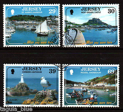 """Jersey Stamps 2004 """"Holidays"""" sg1132-1135 - Fine used"""