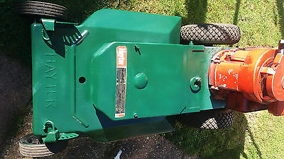 Hayter Osprey 21 self propelled rotary mower