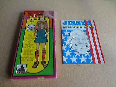 Pres. Jimmy Carter Coloring Book &  Amy Carter Paper Dolls
