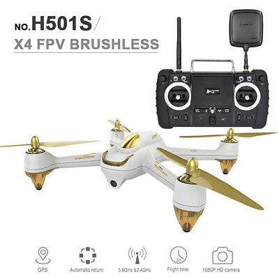 Hubsan H501S X4 5.8G FPV 10CH Brushless RC Quadcopter With 1080P HD Camera GPS
