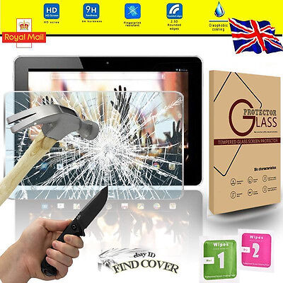 Tablet Tempered Glass Screen Protector For Acer Iconia A3-A10 10.1""