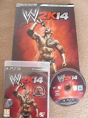 WWE 2K14 PS3 Game and Strategy Guide