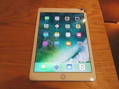 Apple iPad Air 2 64GB, Wi-Fi + Cellular EE Network 9.7in - Gold Cracked screen