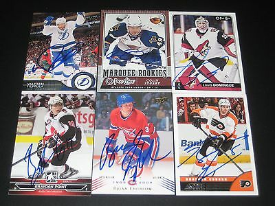 """BRIAN ENGBLOM autographed MONTREAL CANADIENS """"centennial"""" card #69"""