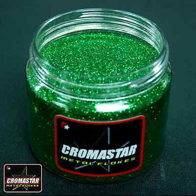 Metal Flake Intense Green Automotive Paint