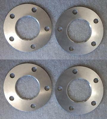 2 Pairs of Audi / Mercedes 5mm Alloy Hubcentric Wheel Spacers 5x112 66.6