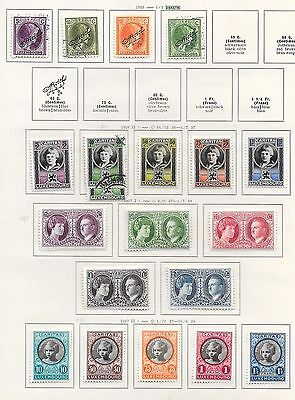 Luxembourg stamps 1926 Collection of 20 stamps   HIGH VALUE!