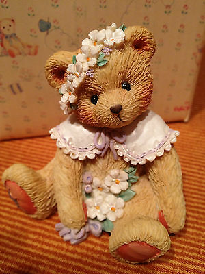 "MAY ~ ""Friendship is in Bloom "" 1993 MAY BEAR ~ RETIRED  Calendar Bears"