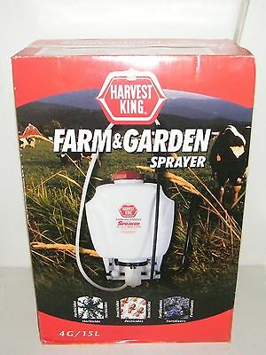 Chapin Harvest King 4 Gallon Farm & Garden Backpack Sprayer 61705N
