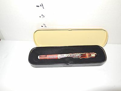 Coca Cola Pen And Tin Case