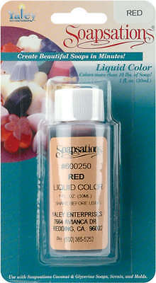 Soapsations Liquid Color 1oz Red LC600-250
