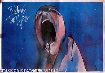 Pink Floyd 24x34 The Wall Music Poster Screaming