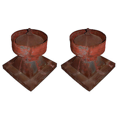 Antique Barn Vents from Ohio Farm, Late 19th Century,  2 Available, NMI98