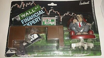 Wall Street Expert Monkey Accoutrements figure NEW