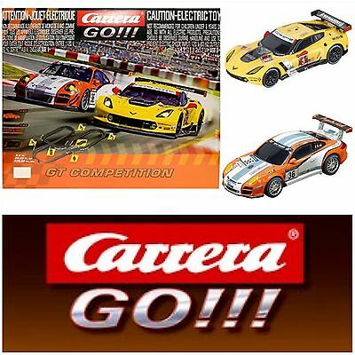 Carrera Go 1/43 GT Competition Race Set