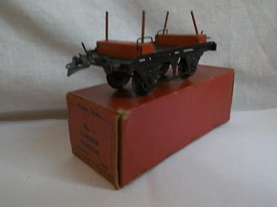 Hornby Trains No.1 Lumber Wagon Gauge O Boxed