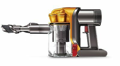 **NEW** Dyson DC34 Handheld Bagless Rechargeable Vacuum Cleaner in Iron & Yellow