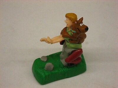 Scooby Doo Wind Up Type Action Toy - Shaggy & Scooby Doo Pull Back - Burger King