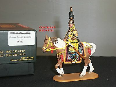 King And Country Ic19 Imperial Chinese Army Emperor Qianlong Mounted Figure