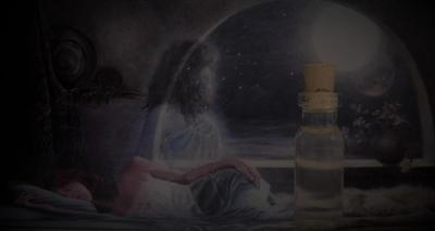 ASTRAL TRAVEL Ritual Oil Anointing Oil Potion Elixir ~ Wicca Witchcraft Pagan