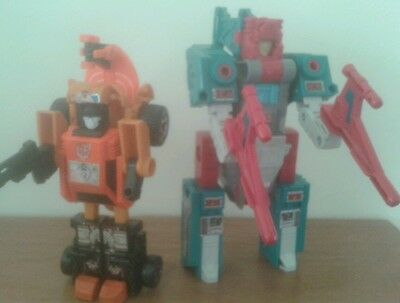 Transformers G1 Quickswitch and Sandstorm