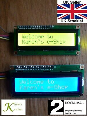 IIC/I2C/TWI 1602 16x2 LCD Display Module for Arduino