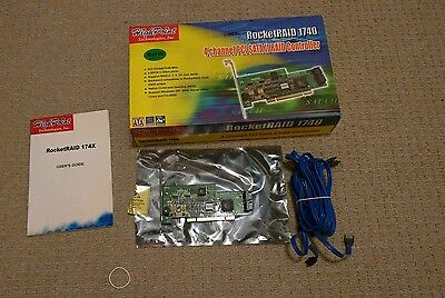 High Point RocketRAID 1740 PCI to SATA II Host Adapter Controller