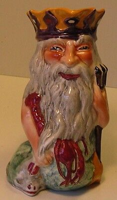 Collectable antique Toby Jug Shorter & Son. Father Neptune.