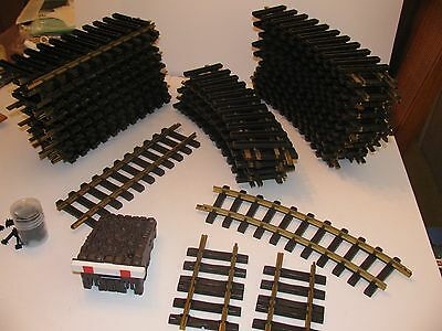 LGB Track -Lot of 53 Pieces of #1000 and 1100 and more