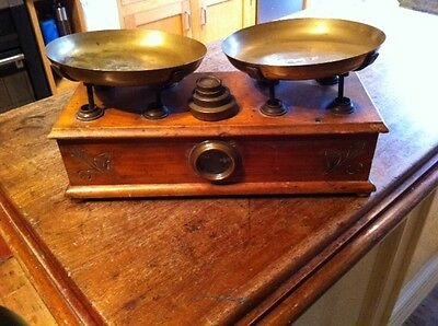 french antique scales