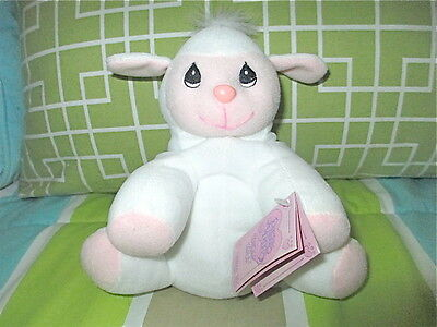 Collectible Gift Precious Moments Tender Tails 463299 Lamb Plush Adoption Papers