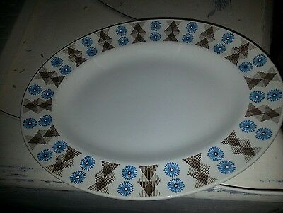 VINTAGE nordic designed by jessie tait midwinter serving platter