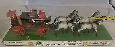 Brumm Historical1:43 # 018 Mail Coach 1827 With 4 Horses