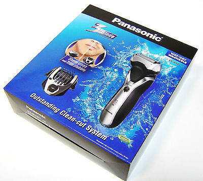 Panasonic ES-RT47 Cordless Rechargeable shaver Trimer Clipper 3-Blade  Wet / Dry