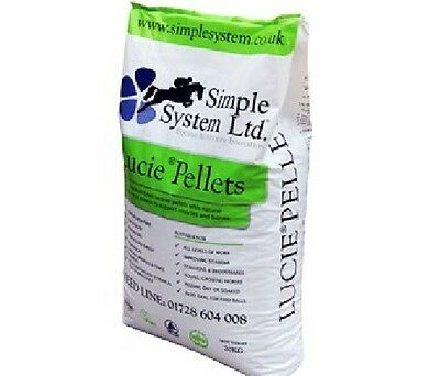 Simple System Organic Lucie Pellets 20kg Horse Food feed