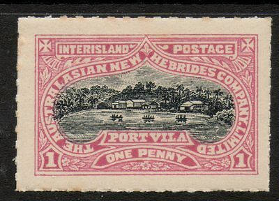 Australasian New Hebrides - Interisland Postage - Port Vila Local Stamp
