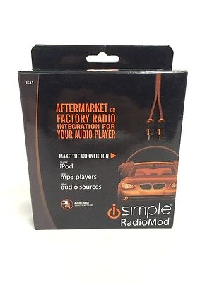 Isimple Is31 Antenna Bypass Fm Modulator For Factory Or Aftermarket Car Radios