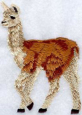 Llama (tan) Embroidery Patch