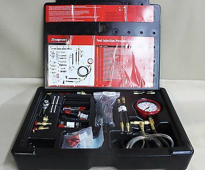 Gently used, SnapOn EEFI500, Master Fuel Injector Pressure Set.