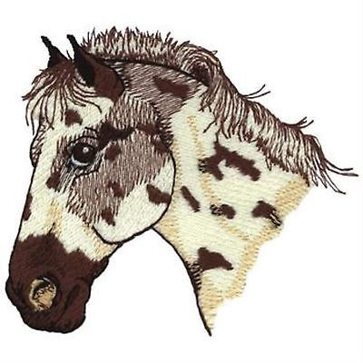 Appaloosa Horse Head (spotted) Embroidery Patch