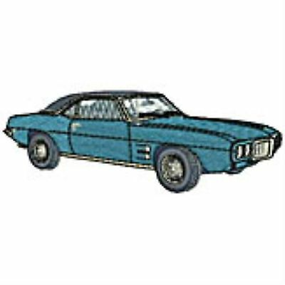 """""""Classic"""" 1967 Firebird Embroidery Patch"""