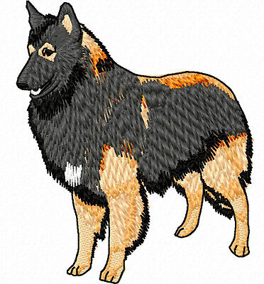 Belgian Tervuren (Standing) embroidery Patch Auction