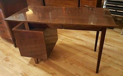Mid Century Modern Floating Top Desk