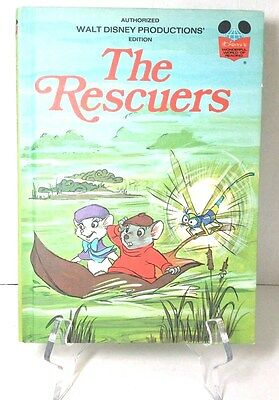Walt Disney Productions 1977 Book Club Edition The Rescuers