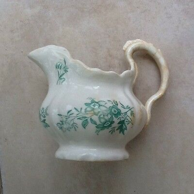 White And Green Jug